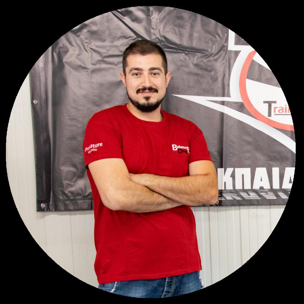Βύρων Καρράς - Εκπαιδευτής Σκύλων στην Balanced Dog Training Team Θεσσαλονίκη